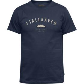 Fjällräven Trekking Equipment - Camiseta manga corta Hombre - azul